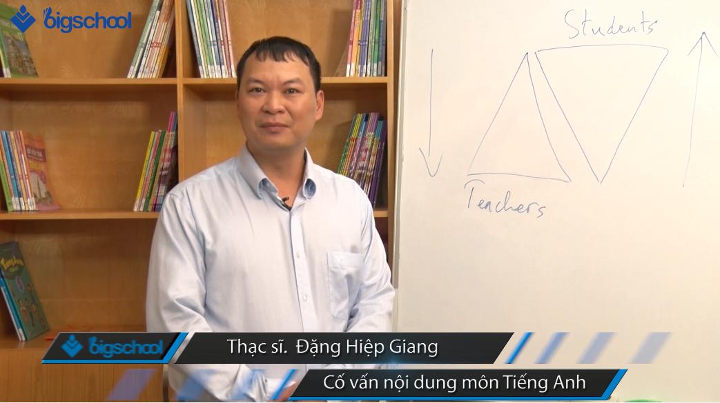 Thầy Đặng Hiệp Giang chia sẻ về cách học tiếng Anh hiệu quả