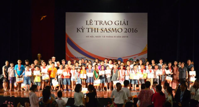 Đề thi SASMO 2016 như thế nào?